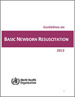 Guidelines on basic newborn resuscitation