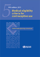 Medical eligibility criteria for contraceptive use