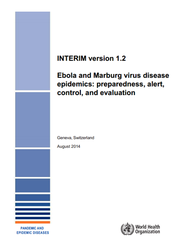 WHO guidelines on ebola